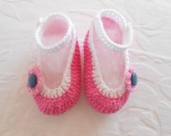 Sapatinhos de Crochet para bebes