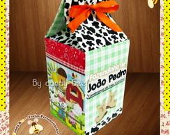 Caixa Personalizada Milk Fazendinha
