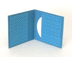 Porta Cd/dvd Duplo Quadriculados