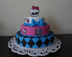 Bolo biscuit Monster High loca��o
