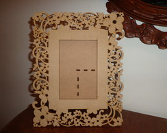 Porta Retrato Proven�al- -9-Flores