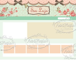 Vitrine Elo7 Love and Shabby