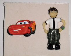 Molde de Silicone do Ben 10 e carros