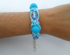 Pulseira Shambala Azul