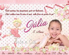 Convite Personalizado - Bailarina