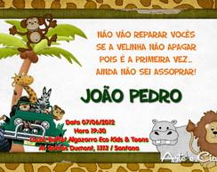 Convite Personalizado - Selva 2