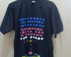 Camiseta Masculina Space Invader
