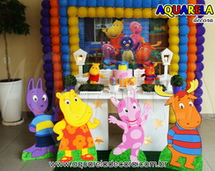 DECORA��O FESTA CLEAN BACKYARDIGANS