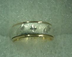 alian�a girat�ria folheada ouro e prata
