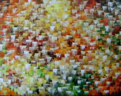 Abstrato Multicores 80x140 Cod 610