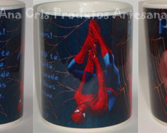 Caneca Ceramica Homem Aranha