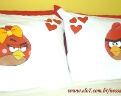 Fronha Angry Birds - Casal