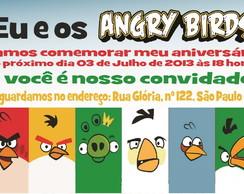 Angry Birds - Convite