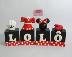 Cubos Minnie Vermelha Clothes