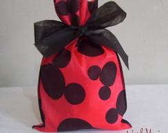 Sacola de tnt - Mickey/Minnie  15x24cm