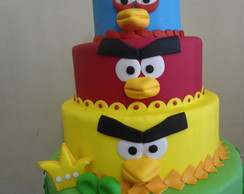 maquete angry bird