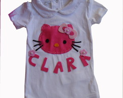 Body personalizado hello kitty com nome