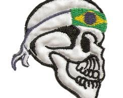 Caveira com Bandana Brasil