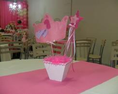 Arranjo de mesa festa Princesas!