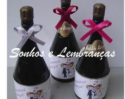 Mini Champanhe decorada bolhas De Sab�o