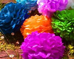 Pom Pom Kit 15 Estilo Europeu Colore