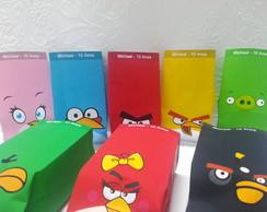 Saquinho Para Pipoca Angry Birds