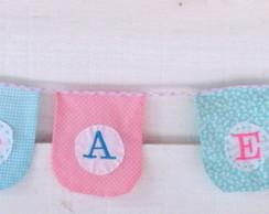 Bandeirolas para Festas e Quartos Beb�