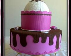 Bolo falso Cupcakes