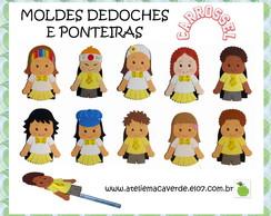 MOLDE DEDOCHES E PONTEIRAS CARROSSEL
