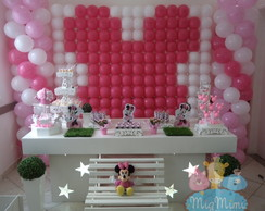 Decora��o Clean - Minnie Rosa