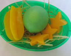Cesta de Frutas Sabonete