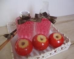 Kit Luxo - Ma�� vermelha