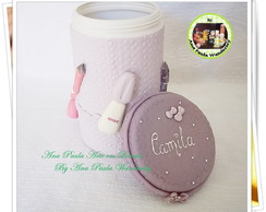 Pote kit manicure biscuit
