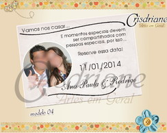 Save The Date Ana