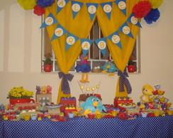 Loca��o decora��o Galinha Pintadinha