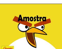 R�tulo Batom Angry Birds