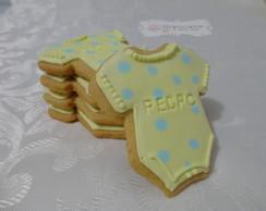 Biscoito decorado para ch� de beb�!