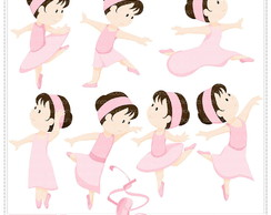 Ballerina Vol 2 Clipart Digital