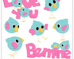 Love Birds Clipart Digital