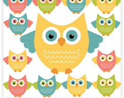 Cute Owls Vol 1 Clipart Digital