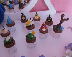 Mini Potinho Dos Angry Birds