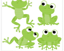 Kiss The Frog Clipart Digital