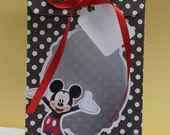 Mickey + tag [porta doces]