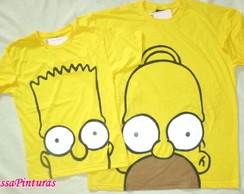 Camiseta os simpsons - Adulto