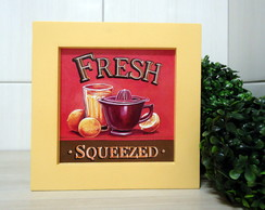 Mod2.quadro Decorativo Fresh - Yellow