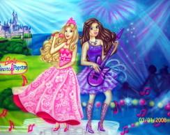 Painel Barbie