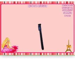 Barbie E Ken Moda E Magia Quadro M�gico