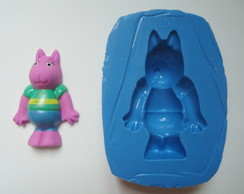 Molde de silicone do Backyardigans