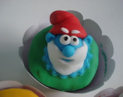 Cup Cakes Smurfs