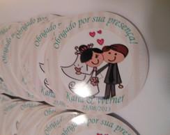 Adesivo Latinha Mint To Be Casamento